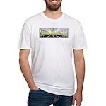 6thBoro, Hoboken Terminal (Fitted T-shirt)