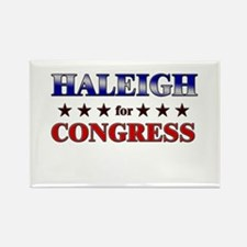 HALEIGH for congress Rectangle Magnet