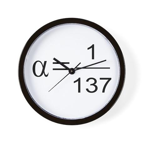 137 Wall Clock
