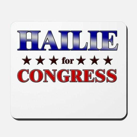 HAILIE for congress Mousepad