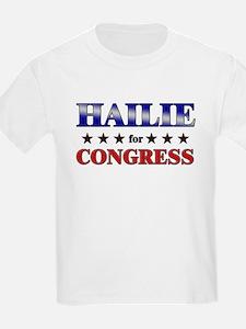 HAILIE for congress T-Shirt