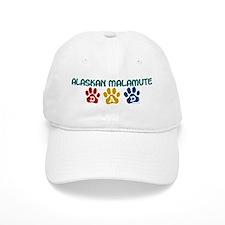 Alaskan Malamute Dad 1 Baseball Cap