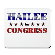 HAILEE for congress Mousepad