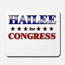 HAILEE for congress Mousepad