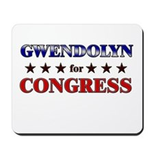 GWENDOLYN for congress Mousepad