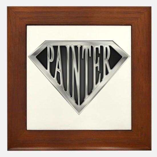 SuperPainter(metal) Framed Tile