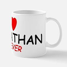 I Love Johnathan Forever - Mug