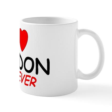 I Love Jordon Forever - Mug