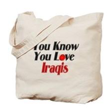 You know you love Iraqi Tote Bag