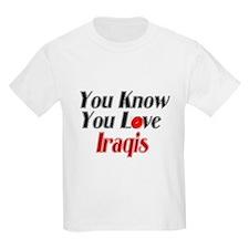 You know you love Iraqi T-Shirt