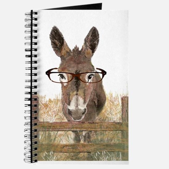 Humorous Smart Ass Donkey Painting Journal