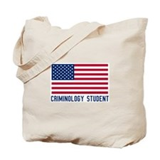 Ameircan Criminology Student Tote Bag