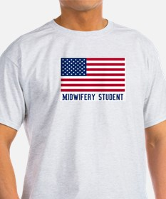 Ameircan Midwifery Student T-Shirt