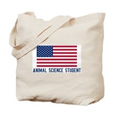 Ameircan Animal Science Stude Tote Bag