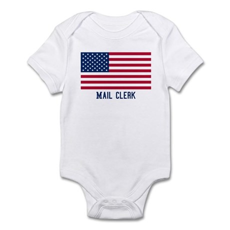 Ameircan Mail Clerk Infant Bodysuit