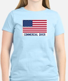 Ameircan Commercial Diver T-Shirt