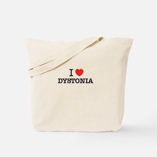 I Love DYSTONIA Tote Bag