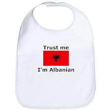 Trust me-I'm Albanian Bib
