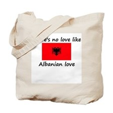 No love like Albanian love Tote Bag