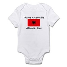 No love like Albanian love Infant Bodysuit