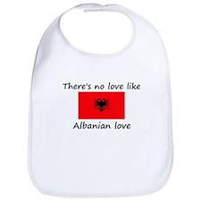 No love like Albanian love Bib