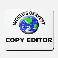World's Okayest Copy Editor Mousepad