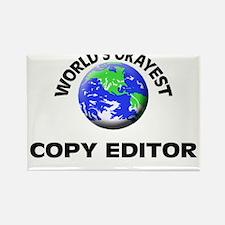 World's Okayest Copy Editor Magnets