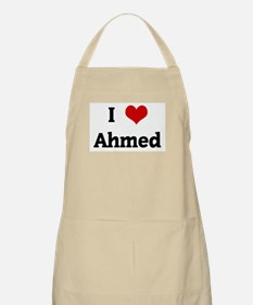 I Love Ahmed BBQ Apron