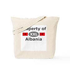 Property of Albania Tote Bag