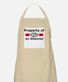 Property of an Albanian BBQ Apron