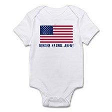 Ameircan Border Patrol Agent Infant Bodysuit