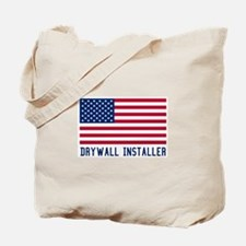 Ameircan Drywall Installer Tote Bag