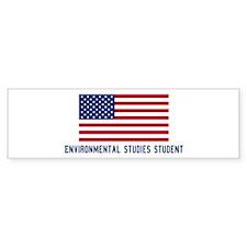 Ameircan Environmental Studie Bumper Bumper Sticker