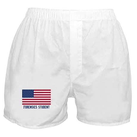 Ameircan Forensics Student Boxer Shorts