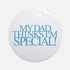 Dad Special Round Ornament