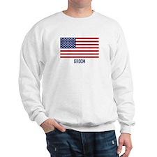 Ameircan Groom Sweatshirt