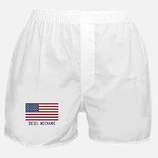 Ameircan Diesel Mechanic Boxer Shorts