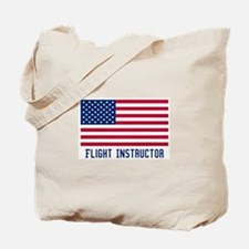 Ameircan Flight Instructor Tote Bag