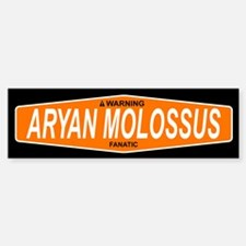 ARYAN MOLOSSUS Bumper Car Car Sticker