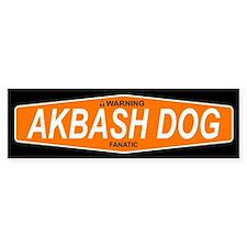 AKBASH DOG Bumper Bumper Sticker