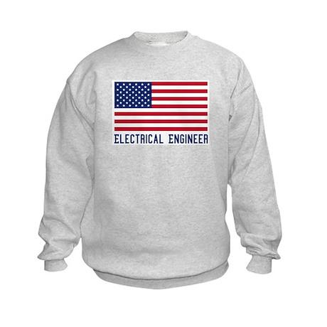 Ameircan Electrical Engineer Kids Sweatshirt