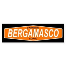 BERGAMASCO Bumper Bumper Sticker