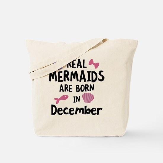 Mermaids are born in February C0w2q Tote Bag