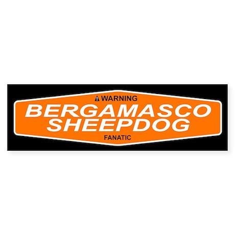 BERGAMASCO SHEEPDOG Bumper Sticker
