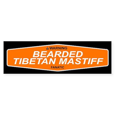 BEARDED TIBETAN MASTIFF Bumper Sticker