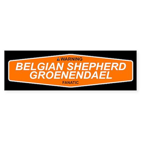 BELGIAN SHEPHERD GROENENDAEL Bumper Sticker