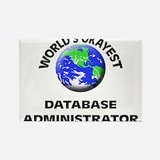 World's Okayest Database Administrator Magnets