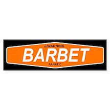 BARBET Bumper Bumper Bumper Sticker