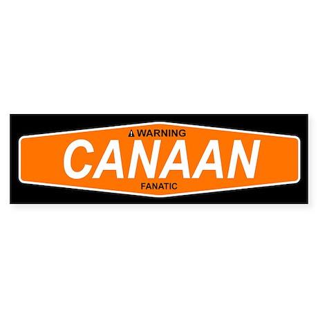 CANAAN Bumper Sticker