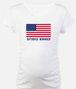 Ameircan Database Manager Shirt